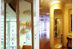 Zerkalo s facetom na kolonne (1)