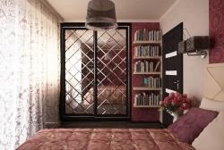 Zerkala s facetom v razdvizhnyh dverjah shkafa - kupe (1)