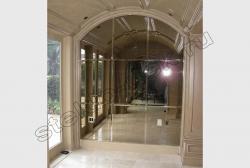 Inter'er v klassicheskom stile s primeneniem facetnogo zerkala (1)