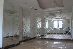Otdelka sten zerkalami s facetom (2)