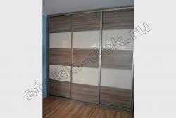 Dveri shkafa-kupe iz lakirovannogo stekla LAKOBEL'' 1013 zhemchuzhno-belyj (1)