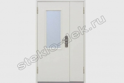Armirovannoe steklo v dverjah na lestnichnyh ploshhadkah (3)