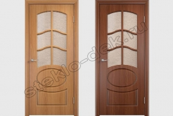 Steklo uzorchatoe Karmen v dverjah