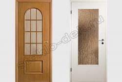 Mezhkomnatnye dveri so steklom Sel'vit 118 bronzovym (2)