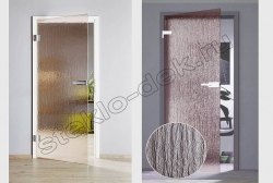 Riflenoe steklo SEL''VIT bronza v mezhkomnatnyh dverjah (2)