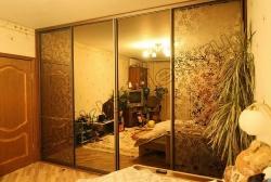 Shkaf kupe s primeneniem dekorativnogo matovogo zerkala ALLEGRO (SMC-012) (3)