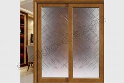 Razdvizhnye dveri s zerkalom LABIRINT (SMC-003)