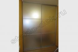 Shkaf-kupe s dekorativnym matovym zerkalom (2)