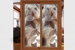 Razdvizhnye dveri s zerkalom ZEBRANO (SMC-DSG-031)