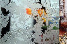 Riflenoe steklo Merdzhan (Merkan) bescvetnoe matirovannoe (2)