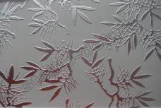 Steklo listovoe uzorchatoe Dali bescvetnoe matirovannoe (3)