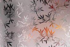 Steklo uzorchatoe Dali bronzovoe matirovannoe (2)