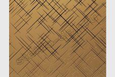 Zerkalo dekorativnoe matovoe bronzovoe LABIRINT (SMC-003) (1)