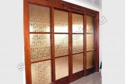 Razdvizhnye dveri s uzorchatym steklom Del'ta (1)