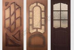 Uzorchatoe steklo Del'ta v dverjah (1)