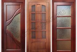 Uzorchatoe steklo Del'ta v dverjah (2)