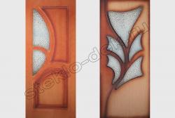 Uzorchatoe steklo DIAMANT v dverjah (1)
