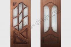 Uzorchatoe steklo DIAMANT v dverjah (2)