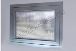 Steklo uzorchatoe KRIZET v oknah (1)