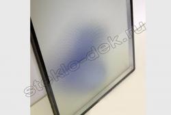 Steklo uzorchatoe KRIZET v oknah (2)