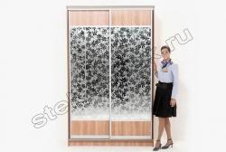 Shkaf kupe s primeneniem dekorativnogo matovogo zerkala ALLEGRO (SMC-012) (4)