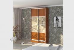 Dveri shkafa kupe s dekorativnym zerkalom ZEBRANO (SMC-DSG-031) (2)