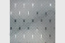 Steklo listovoe uzorchatoe KVARTIKS bescvetnoe matirovannoe (4)