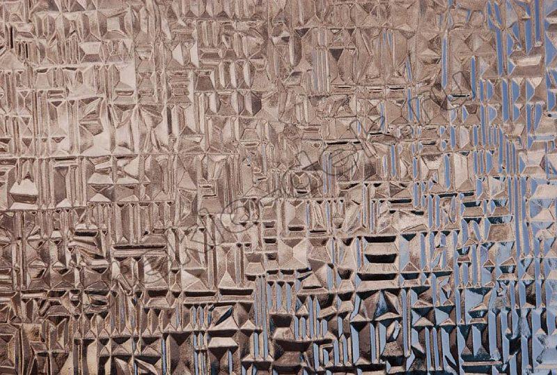 Steklo uzorchatoe Abstrakto bronza (2)