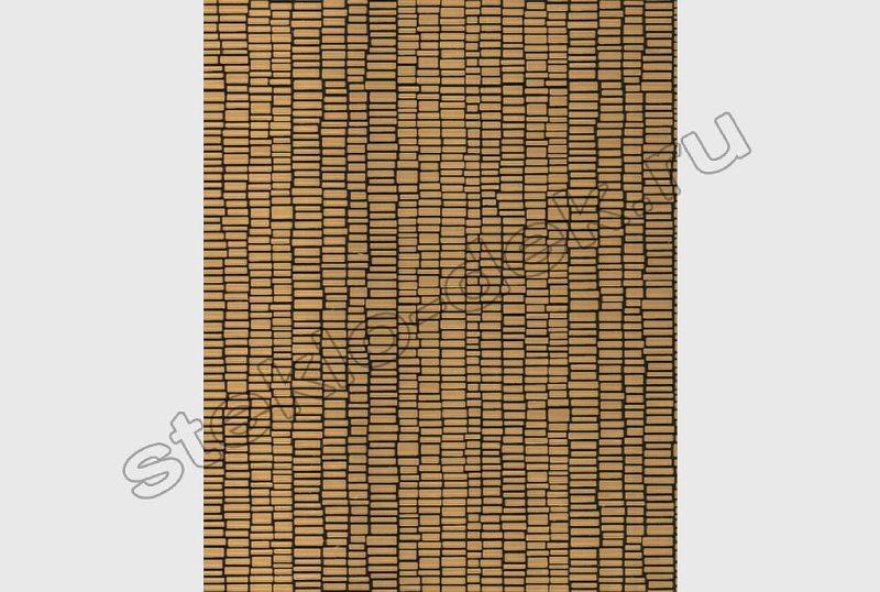 Zerkalo matovoe listovoe bronzovoe PAPIRUS (SMC-015) (2)